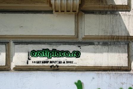 Marketing Online in viziunea unui prost: murdarim orasul, nu se intelege nimic, public tinta deloc, efect zero.